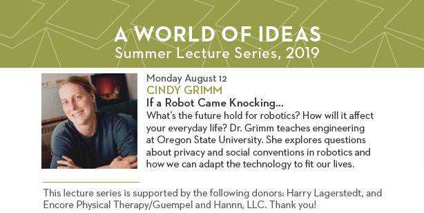 Lecture by Cindy Grimm