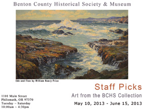 Staff Picks exhibition from the museum collection