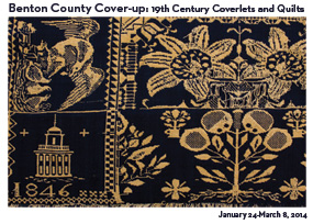 Benton County Cover-up: 19th Century Coverlets & Quilts, Oregon, USA