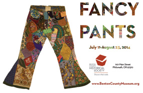 Fancy Pants! museum exhibition of 20th century below the belt fashion