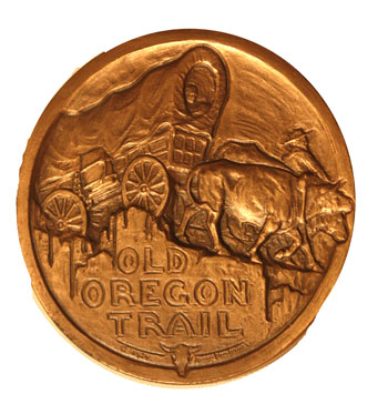 Oregon Trail medal