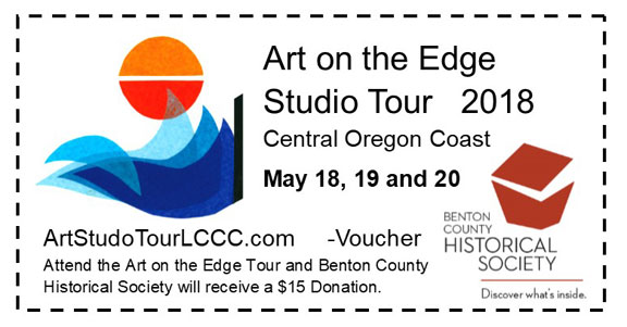 Lincoln City Art On The Edge coupon voucher