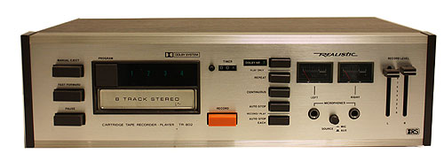Realistic 8-Track Tape Player