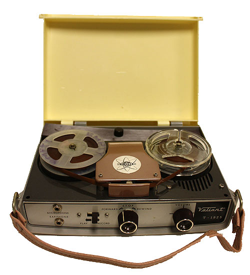 Valient Portable Reel-to-Reel Tape Recorder