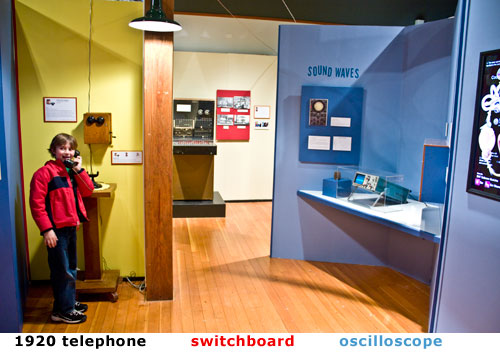 Telephone Hands On Exhibit