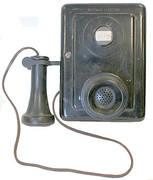 Western Electric No Dial Wall Telephone