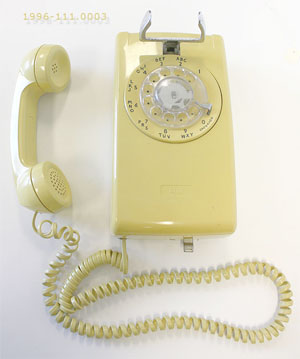 Plastic Wall Telephone