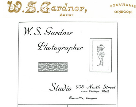 W.S. Gardner photography, Corvallis, Oregon, USA