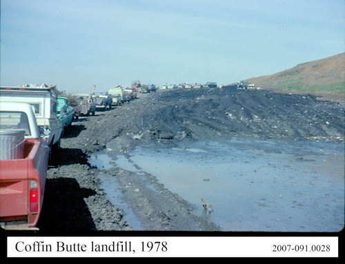 Slide Photo by Marvin Gloge, Coffin Butte Landfill