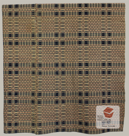Rose in the Wilderness 19th century American coverlet