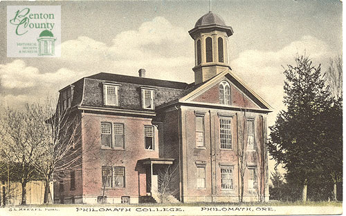 Philomath College, Keezel Postcard