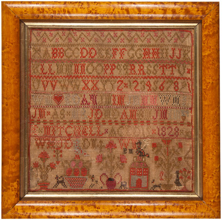 1828 Scottish Sampler