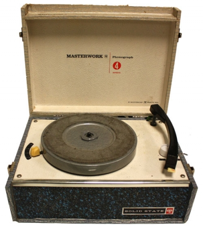 Masterwork Portable Record Player