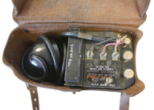 Field Telephone Inside Case