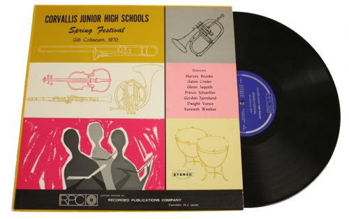 1970 Recording of Corvallis Jr. High School Music Students